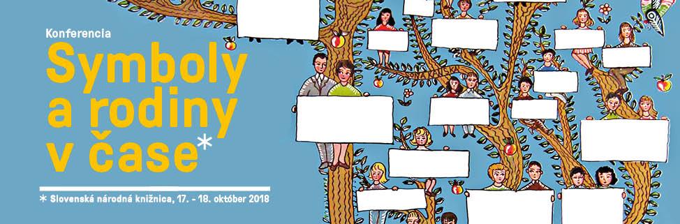 Slovenská národná knižnica - Symboly a rodiny  čase - konferencia