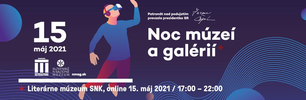 Noc v Literárnom múzeu bude online